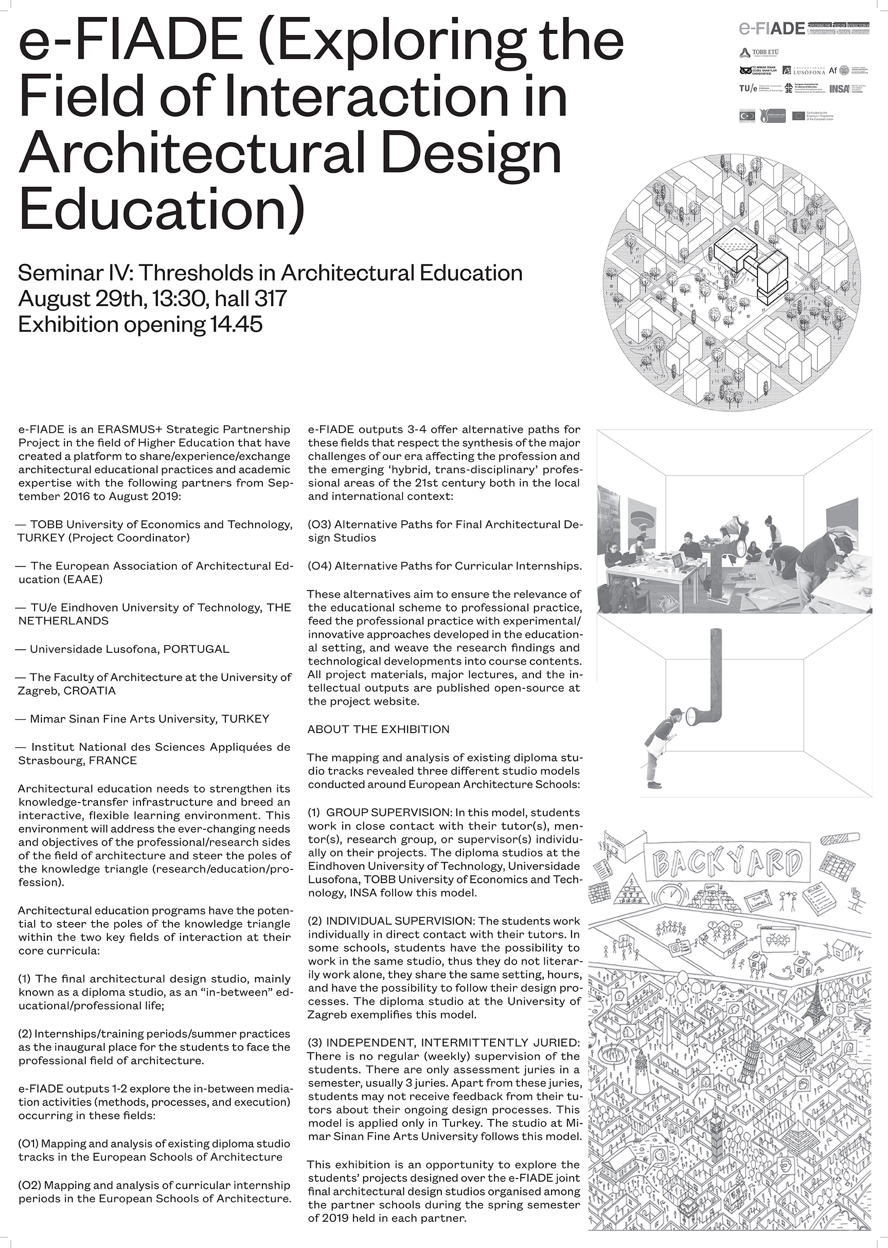 e-FIADE Seminar IV: Thresholds in Architectural Education